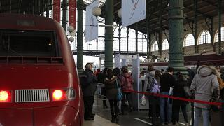 قطار مسیر پاریس-آمستردام