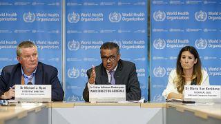 المدير العام لنظمة الصحة العالمية تيدروس أدهانوم غبريسوس