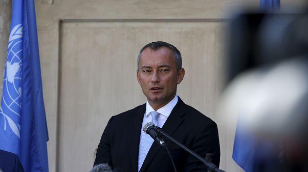 نيكولاي ملادينوف مبعوث الأمم المتحدة لعملية السلام في الشرق الأوسط