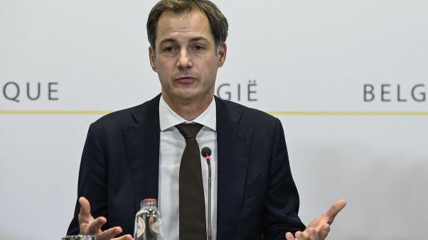 Belgium's Prime Minister Alexander De Croo