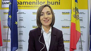 Oppositionspolitikerin Sandu gewinnt Präsidentenwahl in Moldau