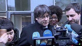 Der frühere katalanische Separatistenführer und heutige EU-Abgeordnedte Carles Puigdemont