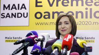 Maia Sandu, presidente della Moldavia