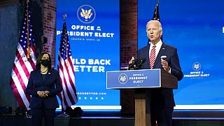 Joe Biden et Kamala Harris, Wilmington, Delaware, USA, 16 novembre 2020