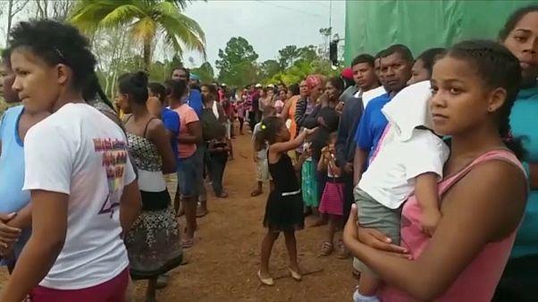 Hurrikán Nicaraguában