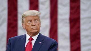 الرئيس الأميركي المنتهية ولايته دونالد ترامب