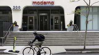 Die Moderna-Niederlassung in Cambridge, Massachusetts