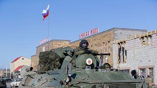صلحبانان ارتش روسیه در قره باغ