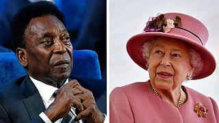 RFI'nin yayınladığı ölüm ilanları arasında Kraliçe II. Elizabeth ve Pele'ninkiler de bulunuyor