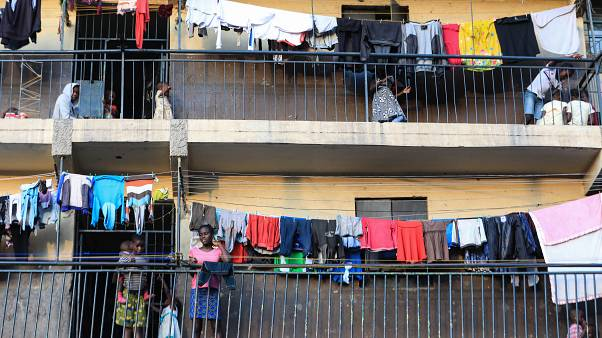 Erkély Nairobiban