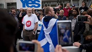 حامیان جدایی اسکاتلند از بریتانیا