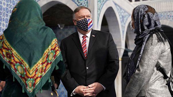 """بومبيو يقوم بزيارة إلى تركيا تتمحور حول """"الحرية الدينية"""""""