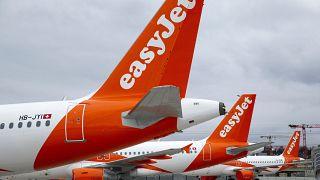 """طائرات تابعة لشركة""""إيزيجيت"""" البريطانية للطيران"""