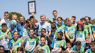 Futbola gönül veren gençler 'F4F Dostluk İçin Futbol Turnuvası'nda internet üzerinden buluştu