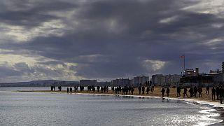 Varosia beach in the abandoned city