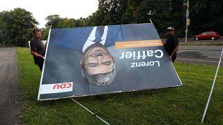 Caffier auf Wahlplakat 2016