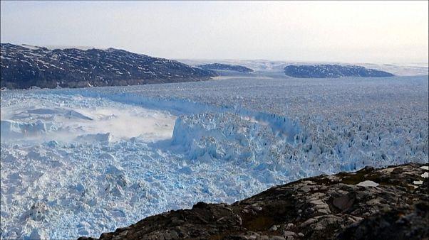 Glaciares da Gronelândia estão a derreter rapidamente
