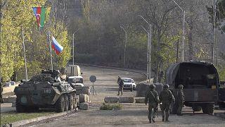 انتشار قوات روسية في ناغورني قره باغ لتطبيق اتفاق وقف إطلاق النار