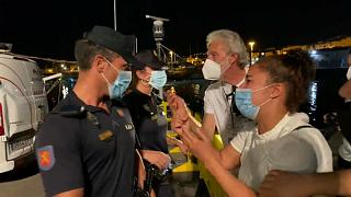Crise migratoire : de difficiles retrouvailles aux Canaries