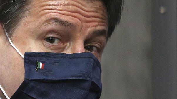 "Giuseppe Conte propõe ""bazuca à italiana"" ao Parlamento"