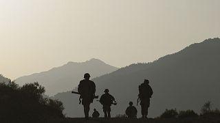 Afganistan'da görev yapan ABD askerleri (arşiv)