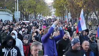 Διαδήλωση στη Σλοβακία