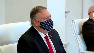Mike Pompeo in Tbilisi, 18th November, 2020