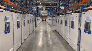 Pfizer'in Belçika'daki üretim merkezi