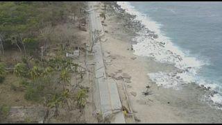 شاهد: إعصار إيوتا يدمر جزيرة بروفيدينسيا في كولومبيا