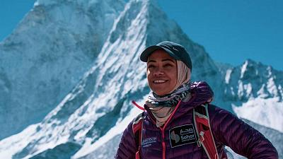 Nadhira al Harthy, the first Omani woman to climb Mount Everest