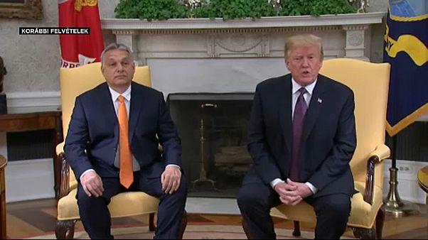 Orban-Trump meeting, May 2019.