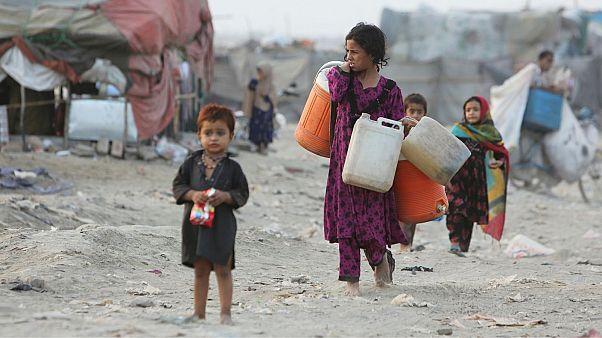 عکس تزئینی از کودکان پاکستانی