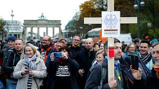 تظاهرات «ضدماسکها» در برلین