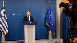 Ο υφυπουργός παρά τω πρωθυπουργώ και κυβερνητικός εκπρόσωπος Στέλιος Πέτσας