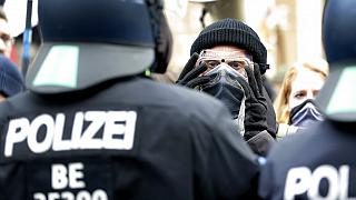 Thousands protest in Berlin over coronavirus restrictions