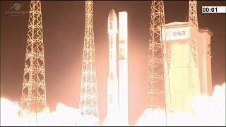 Vega roket fırlatılışı