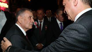 Yıldırım Akbulut ve Cumhurbaşkanı Erdoğan