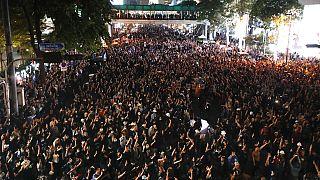 Manifestation en Thaïlande