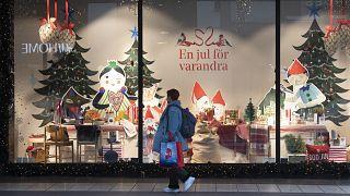 Schaufenster in Stockholm