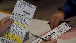 بطاقات اقتراع الناخبين في ويسكونسن