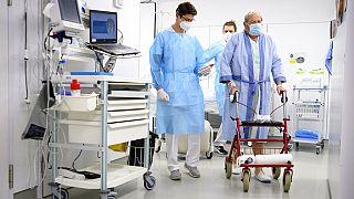Im Krankenhaus in Genf