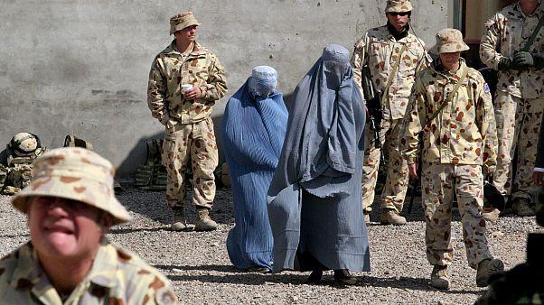 عکس آرشیوی از نیروهای استرالیایی در افغانستان