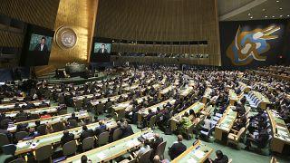 عکس آرشیوی از مجمع عمومی سازمان ملل