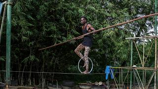 Gabon : Le cirque de l'Equateur sur la corde raide