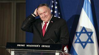 وزير الخارجية الأمريكي مايك بومبيو في إسرائيل