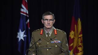 Chief of the Australian Defence Force Gen. Angus Campbell in Canberra, on Nov. 19, 2020.