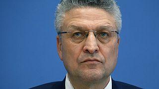 RKI-Chef Lothar H.Wieler auf einer Pressekonferenz