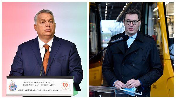 Orbán Viktor és Karácsony Gergely