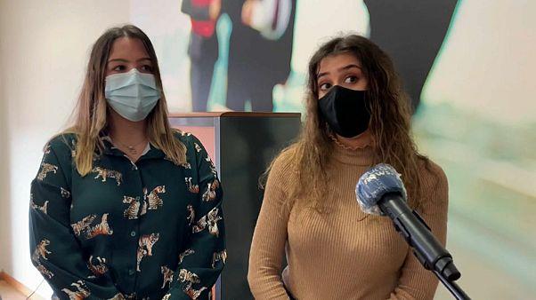Maria et Sara, infirmières portugaises sur le départ