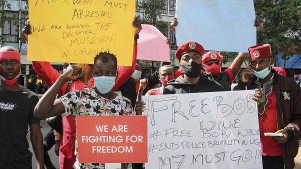 احتجاجات أوغندا